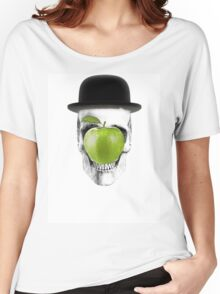Magritte Skull Women's Relaxed Fit T-Shirt