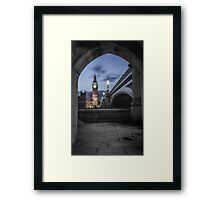 Archway in Westminster, London Framed Print