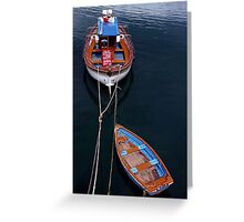 Boat Trip Greeting Card
