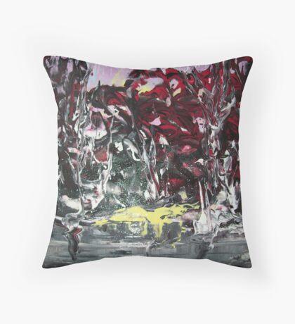 Nature Rising Throw Pillow
