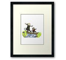 Calvin Main Framed Print