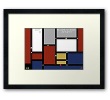 Game Painting Pacman Framed Print
