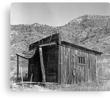 Canyon Cabin Metal Print