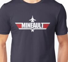 Custom Top Gun - Mineault Unisex T-Shirt
