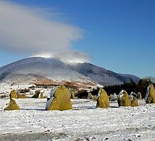 Boxing Day snow at Castlerigg Stone Circle by Martin Lawrence
