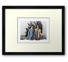 YOU SEE? Framed Print