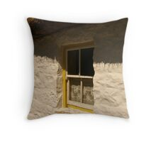 the cottage window ... Throw Pillow