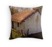 Irish Cottage (2) Throw Pillow