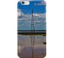 Electricity Pylon  iPhone Case/Skin