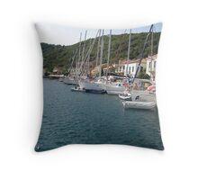 Greece, Ithaka Throw Pillow