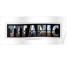 The Titanic Museum, Belfast Poster