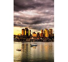 Good Mooring - Moods of A City -#16 - The HDR Series Photographic Print