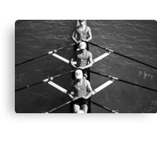The Rowers #2 Canvas Print