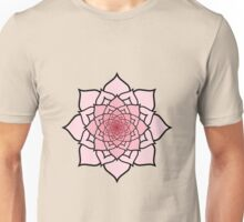 Buddhist Lotus Into Infinity Unisex T-Shirt