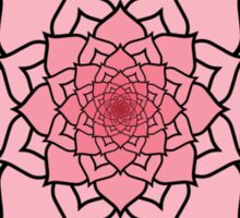 Buddhist Lotus Into Infinity Sticker