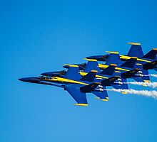 Blue Angels - Teamwork by psankey