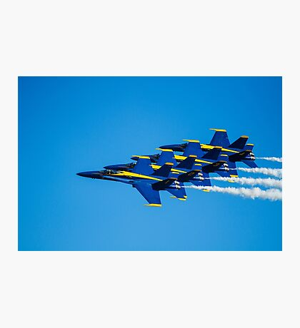 Blue Angels - Teamwork Photographic Print