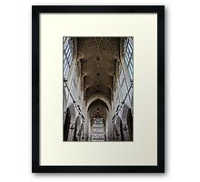 Inside the Bath Abbey Framed Print