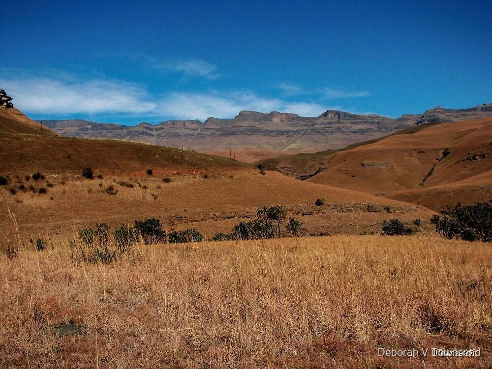 The Drakensberg by Deborah V Townsend