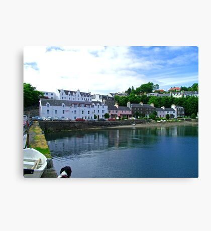 Portree Harbour Canvas Print
