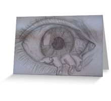 Eye see you. Greeting Card