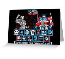 Robo Fighter shirt mug pillow iPhone 6 case leggings Greeting Card