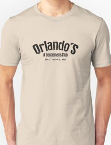 The Wire - Orlando's Gentlemen's Club Unisex T-Shirt