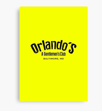 The Wire - Orlando's Gentlemen's Club Canvas Print