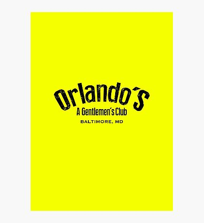 The Wire - Orlando's Gentlemen's Club Photographic Print