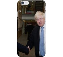 Boris Johnson with Jeffrey Barley iPhone Case/Skin