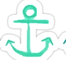 Ocean Anchors! Sticker