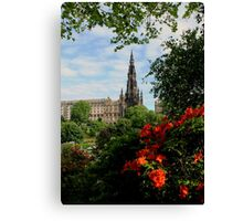 Sir Walter In View Canvas Print