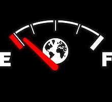 Earth running out of fuel by emilegraphics