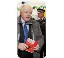 Boris Johnson visits Ealing iPhone Case/Skin