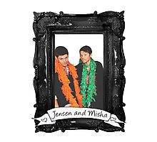 Jensen and Misha Photographic Print