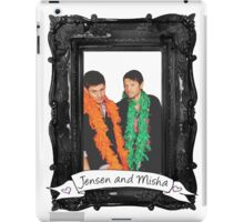 Jensen and Misha iPad Case/Skin