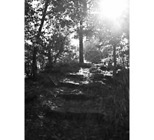 Ragged Walk Photographic Print