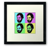 Kubrick - Warhol Style Framed Print