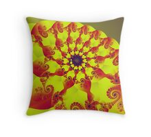 Floral Evolution 003.20.2.g4-280 Throw Pillow