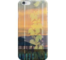 Leaves at Sunset iPhone Case/Skin