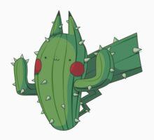 Cactus Pikachu Kids Tee