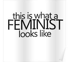 this is what a feminist looks like Poster