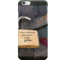Sharing iPhone Case/Skin