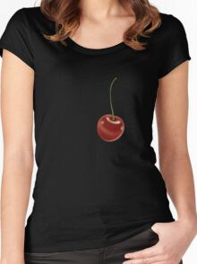 Cherry Women's Fitted Scoop T-Shirt