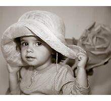 My hat, my hat Photographic Print