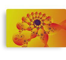 Floral Evolution 003.20.4xp.g4-280 Canvas Print