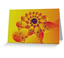 Floral Evolution 003.20.4xp.g4-280 Greeting Card