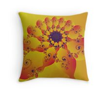 Floral Evolution 003.20.4xp.g4-280 Throw Pillow