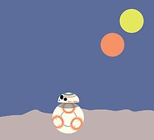 BB-8 (Soccer ball droid) by Kristian Story