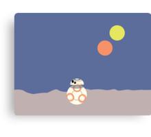 BB-8 (Soccer ball droid) Canvas Print